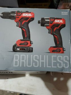 Skil Brushless 12v Drill Driver And Impact Driver Kit for Sale in Nellis Air Force Base,  NV