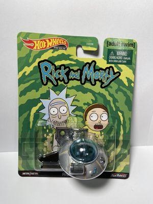 Hot Wheels Rick and Morty Rick's Ship Premium Adult Swim Mattel New 2020 for Sale in Las Vegas, NV