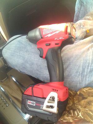 3/8 Milwaukee fuel impact for Sale in Lawton, OK