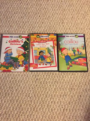 Caillou DVD's for Sale in Naperville, IL
