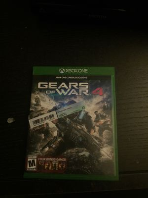 Gears of war 4 for xbox one for Sale in Oceanside, CA