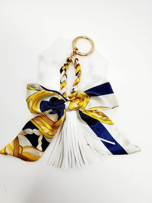 Bag charm with faux leather tassel for Sale in Baldwin Park, CA