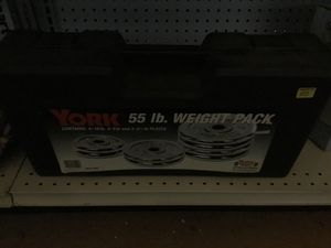 55# weight set for Sale in Rehoboth, MA