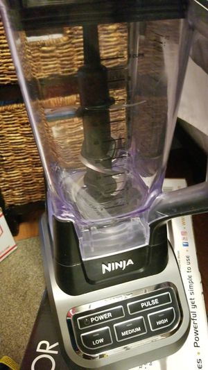 Ninja blender used less than 10 times $65 for Sale in San Marcos, CA