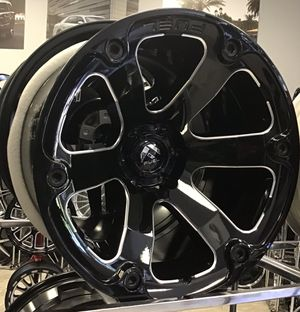 """CONCAVE!! New 20x12 Fuel Offroad Beast Gloss Black Rims Wheels 6x5.5 Chevy Nissan Moto 20"""" for Sale in Tampa, FL"""