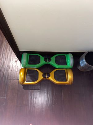 Hoverboards (NO CHARGER) you can buy one online for cheap for Sale in Parker, CO