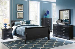 New Queen Bed Set With Dresser & Mirror for Sale in Tampa, FL
