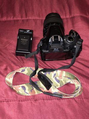 NIKON D3200 18-55 and 55-200mm lens 230$. O.B.O🔥🔥🔥🔥📸 for Sale in San Bernardino, CA