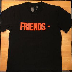 Vlone Friends Orange on Black Tee - Size L for Sale in Parkersburg, WV