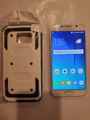 Samsung Galaxy S6 32G Unlocked + Phone Case for Sale in Chicago, IL