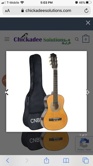 Cnblue Guitar brand new with the cover for Sale in North Las Vegas, NV