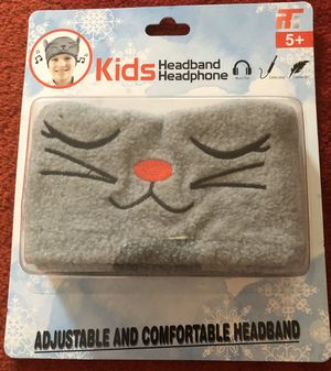 Gray Cat Headband Headphone NEW Adujustable Comfortable(pick up only) for Sale in Springfield, VA