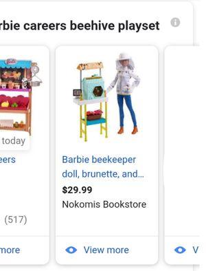 Babrbie BeeKeeper Set for Sale in Las Vegas, NV