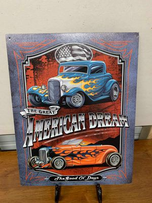 The great American dream tin sign for Sale in Lakeland, FL