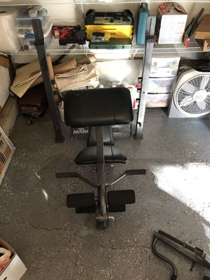 Workout bench for Sale in Palatine, IL