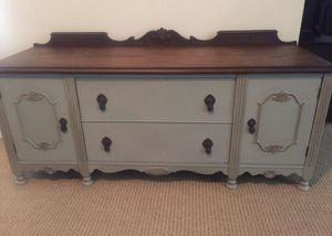Antique low dresser for Sale in Fontana, CA