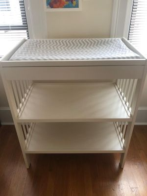 White changing table for Sale in Brookline, MA