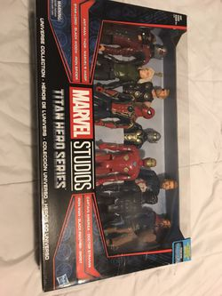 Marvel Titan Hero Series Universe Collection 11 Pack Avengers Black Panther New for Sale in Hayward,  CA