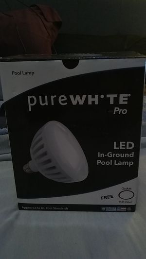 Pure white pro led in ground pool lamp for Sale in Anaheim, CA