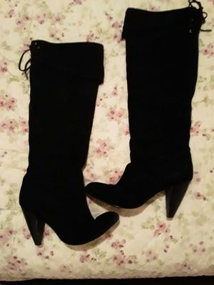 Knee high boots lace top with string for Sale in Denham Springs, LA