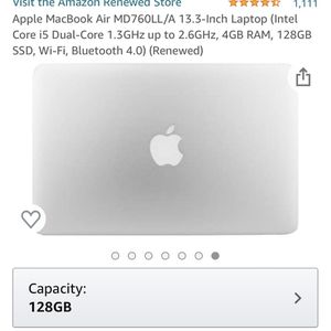 Refurbished Apple Mac Book air 13 Inch for Sale in Spokane, WA