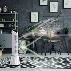 Portable Air Humidify Tower Fan with Remote Control for Sale in Beverly Hills,  CA