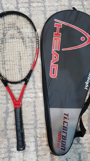 Tennis racket with bag Head ti carbon 7001 pz for Sale in Kirkland, WA
