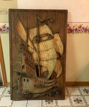 Vanguard Studio inc 1967 pirate ship canvas for Sale in Madera, CA