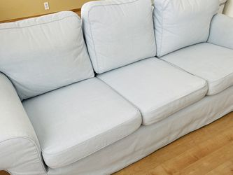 light blue 3-seater couch / Sofa for Sale in San Diego,  CA