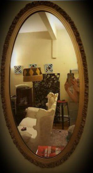Oval antique mirror for Sale in Atlanta, GA