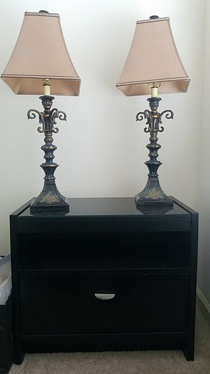 Lamp, Night Stand, antique for Sale in Ashburn, VA