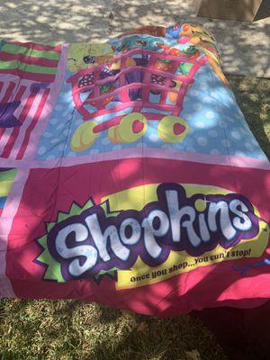 Shopkins bedspread for Sale in Dallas, TX