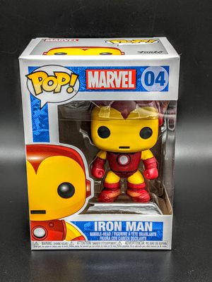 Marvel Iron Man Funko Pop 04 for Sale in San Jose, CA