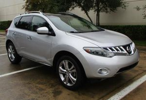 2009 Nissan Murano SE Black Leather for Sale in San Angelo, TX