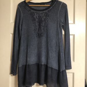 Small Long Sleeve Blue Tunic for Sale in Frederick, MD