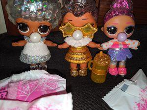 Lol surprise winter disco dolls for Sale in Houston, TX