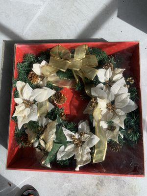 Christmas wreath for Sale in Daytona Beach, FL