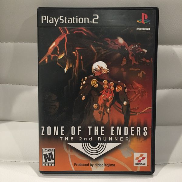 Zone of Enders ps2 game