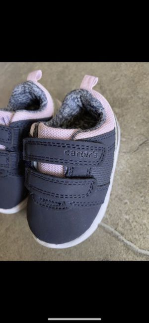 Baby girl shoes size 2 Carters excellent conditions $4firm for Sale in Laveen Village, AZ