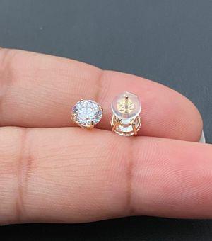 14k real gold studs earrings for men / women for Sale in Los Angeles, CA