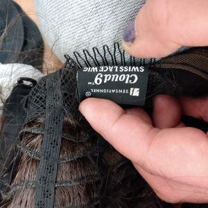 Cloud 9 Long Brunette Real Human Hair Wig for Sale in Mesa, AZ
