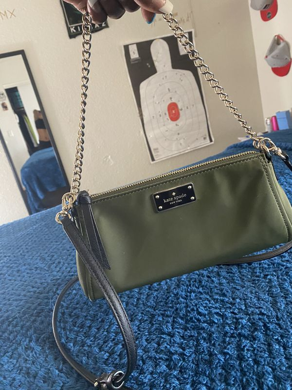 Brand New Kate Spade Hand Bag (olive Green)