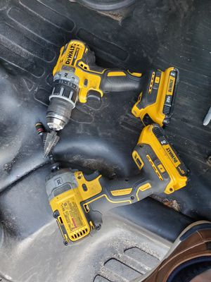 DeWalt 20vMAX impact and drill for Sale in Port St. Lucie, FL