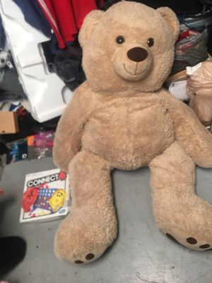 "Teddy Bear Jumbo 55"" Tan Stuffed Toy Plush Huggable Soft Removable Bow for Sale in Tempe, AZ"