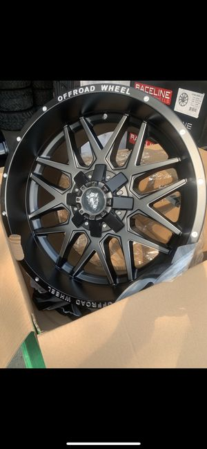 "New 20x10 Black off road Rims 20"" Off-Road Wheels 20 Rines ## Ford F150 Super Duty Chevy Silverado, GMC Sierra , Toyota Tacoma / 4Runner , Nissan Tit for Sale in Dallas, TX"