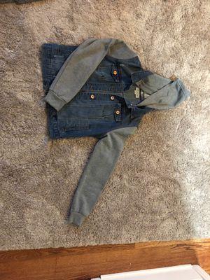 Jean/hooded jacket for Sale in Dearborn, MI