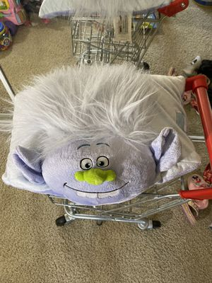 Trolls pillow for Sale in Ontario, CA