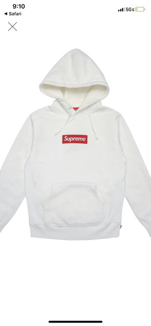 Supreme box logo hooded sweatshirt authentic for Sale in Miami Beach, FL