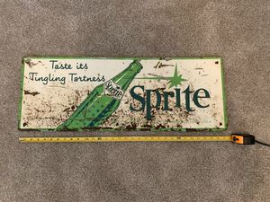 Authentic SPRITE Soda Pop Sign. Highly collectible. RARE! for Sale in Spokane Valley, WA