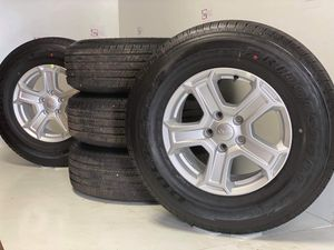 """17"""" Jeep Wrangler NEW wheels and tires for Sale in Solana Beach, CA"""